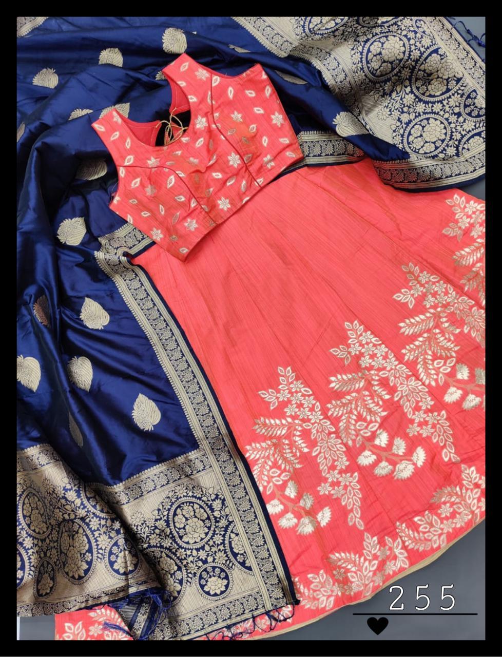 Thankar Beautiful  Pure Banarasi silk  lehenga Choli  Catalog at Wholesale rate