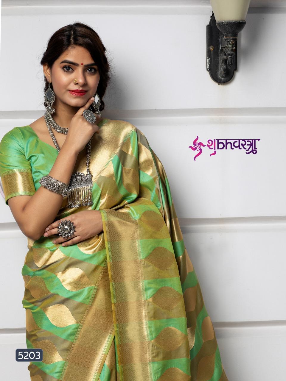 Shubh Vastra Maharani  Vol 1 Designer Banarsi Silk   Wedding Wear Saree Catalog at Wholesale rate