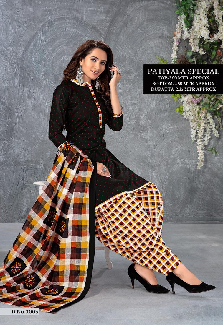Thankar Designer Pure Cotton Patiala Dress Material  Catalog at Wholesale rate