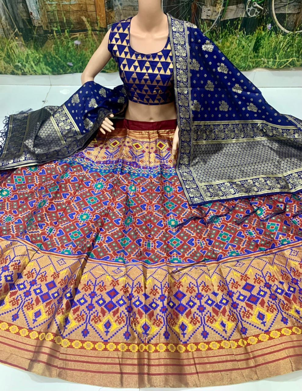 Thankar Designer Banarasi Silk Festive Wear Lehenga Choli Catalog at Wholesale rate