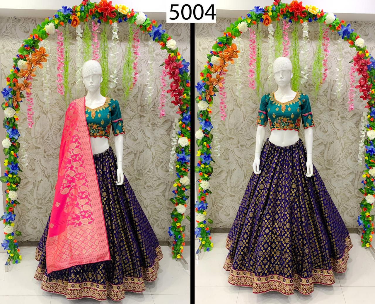 Thankar Peafowl Vol-65 Designer Banarasi Silk Lehenga Choli  Catalog at Wholesale rate