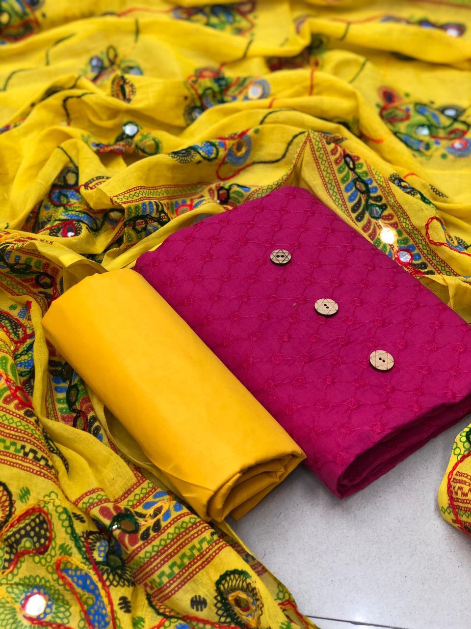 RN Rangrasiya 2 Beautiful Chifali Cotton Dress Material Catalog at Wholesale rate