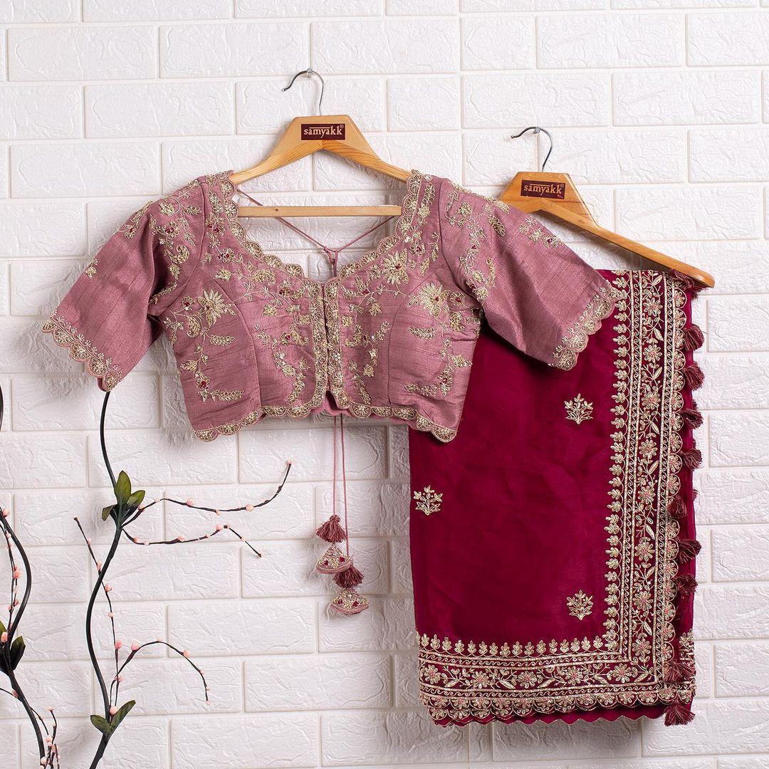 Thankar ZF Rangoli Wedding Wear Rangoli Silk With Heavy Embroidery At Wholesale Rate