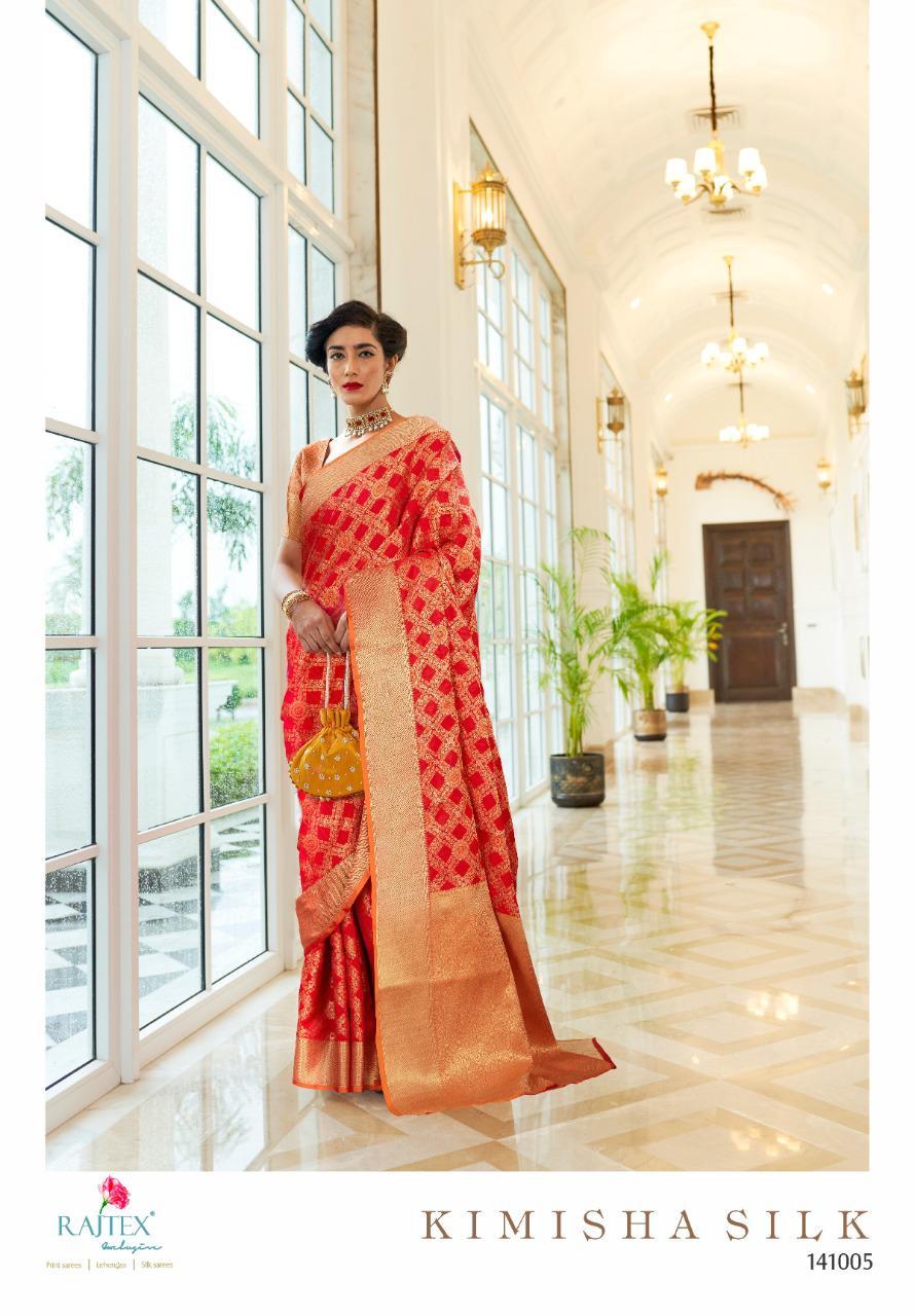 Thankar Kimisha Silk Wedding Wear Beautiful Banarasi Silk Weaving Patola Saree Catalog At Wholesale Rate