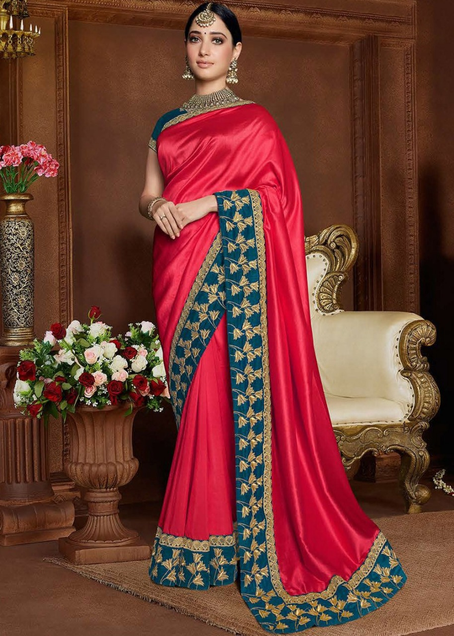 Thankar ZF vol 8 Weding Wear With Embroidery Catalog Saree At Wholesale Rate
