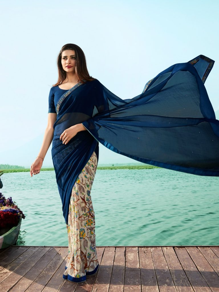 Thankar ZF Vol 1 Casual Wear Giorgette Printed Catalog Saree At Wholesale Rate