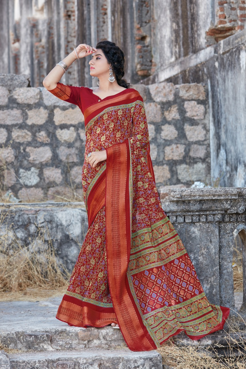 Thankar Sangini Festive Wear pure cotton Catalog Saree At Wholesale Rate