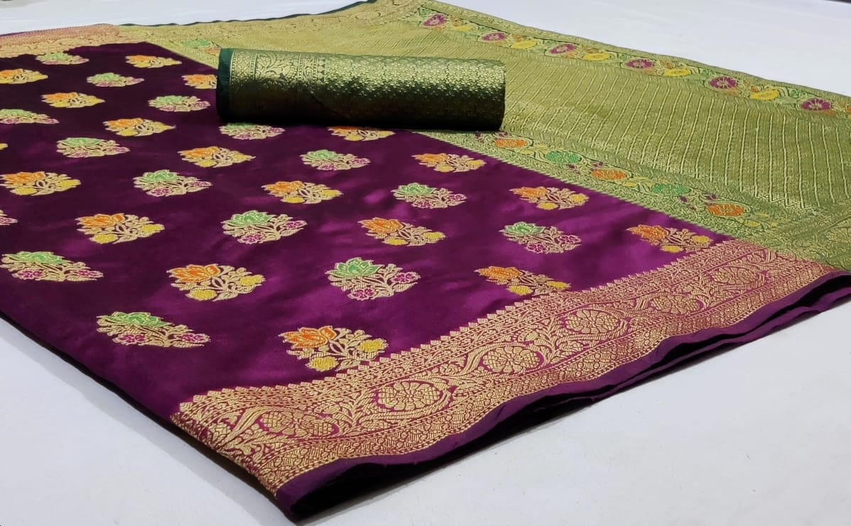Thankar  Silk saree CATALOGUE- vol 6 Festive Wear Pure Soft Banarasi Silk With Beatiful Weaving Catalog Saree At Wholesale Ratei