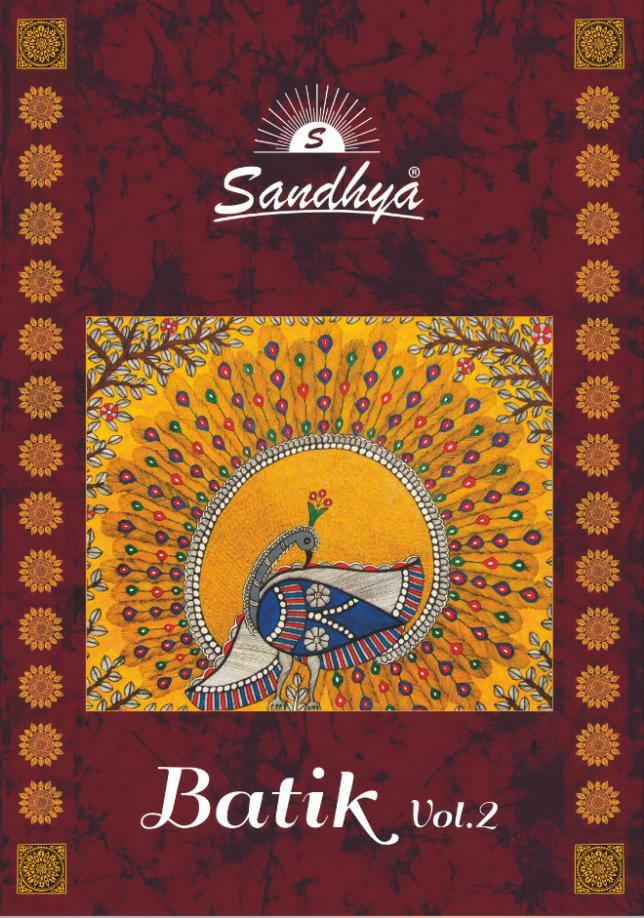 Sandhya - Batik Vol-02 Cotton Batik Print Summer Wear Dress Material Catalog At Wholesale Rate