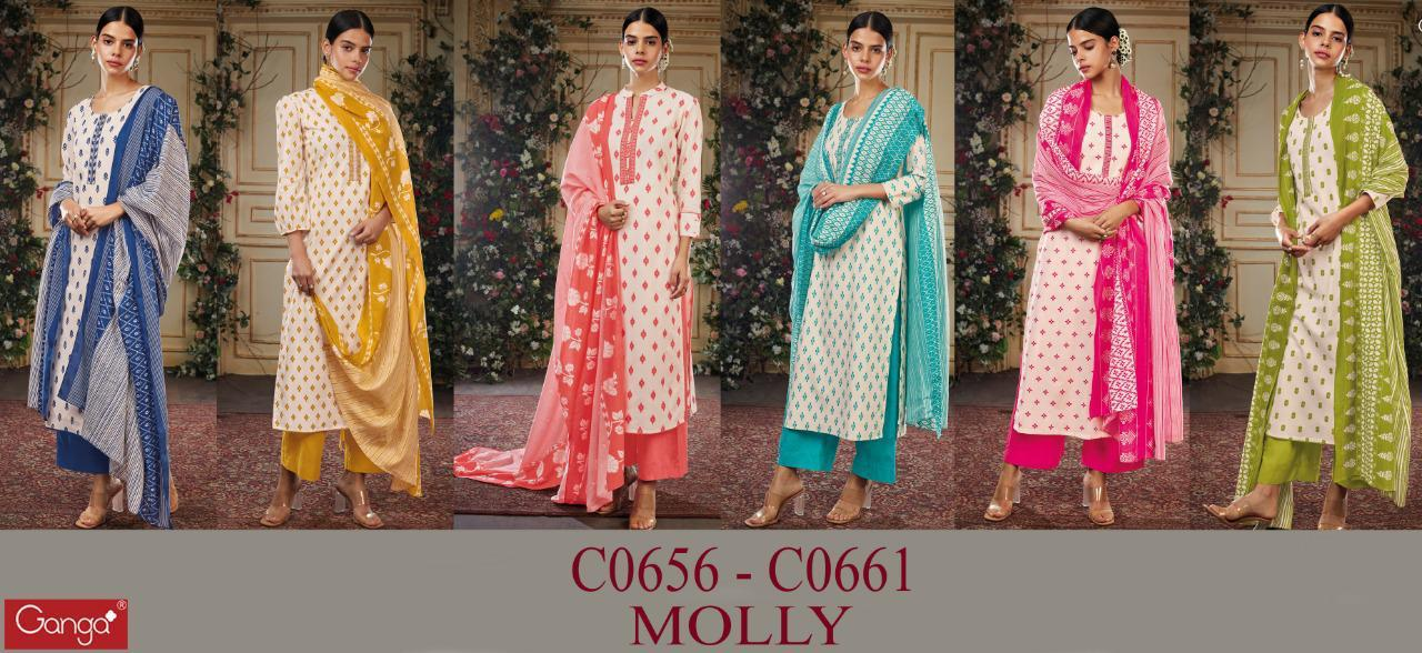 Superior Partywear Printed With Handwork Embroidery Cotton Suit At Wholesale Rate