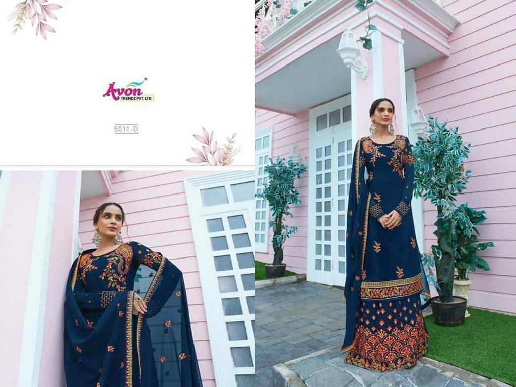 New Fancy Designer Wedding Wear Embroidery Salwar Suit At Wholesale Rate