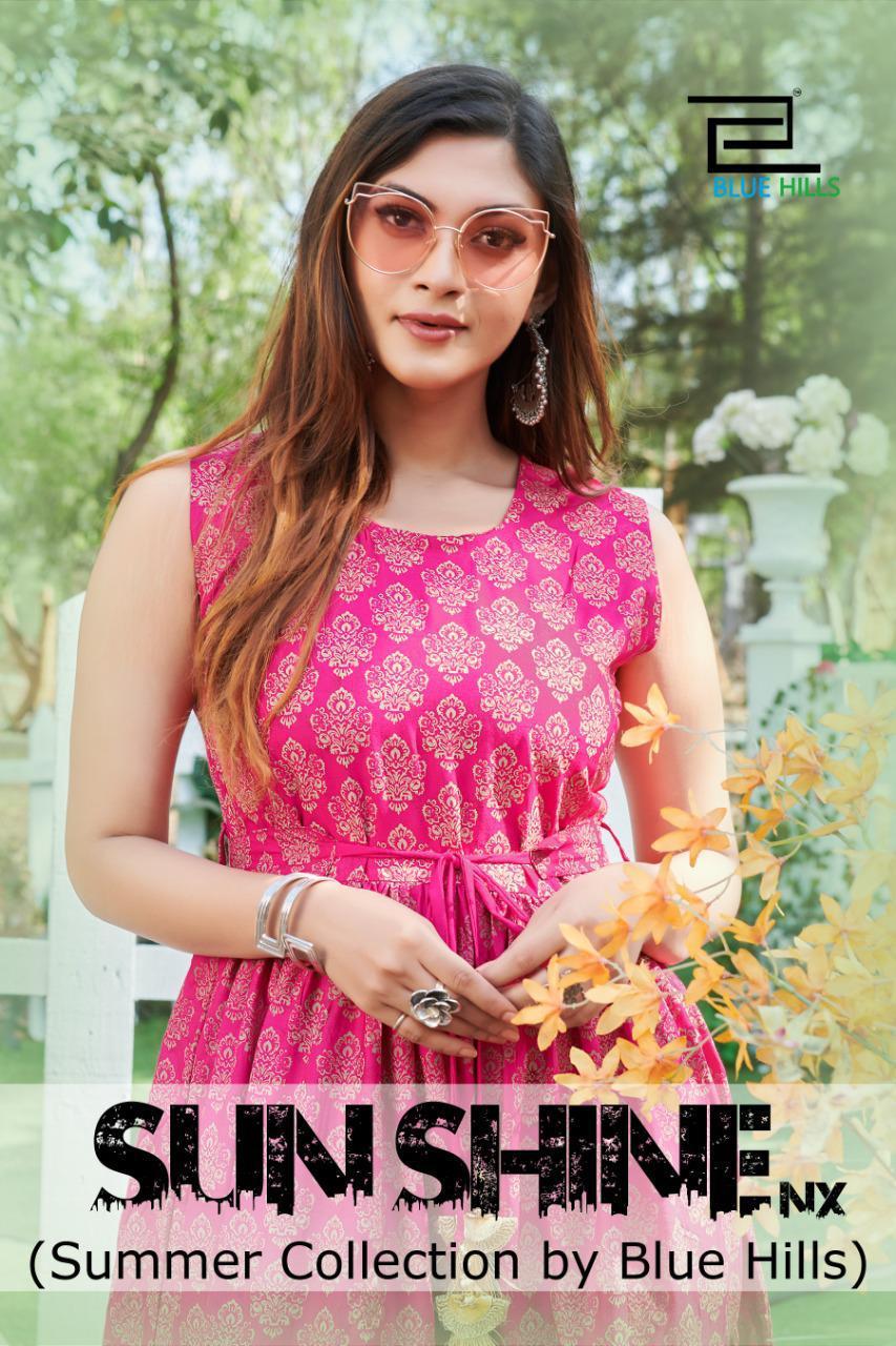 Stylish New Designer Summer Wear Printed Long Kurtis At Wholesale Rate