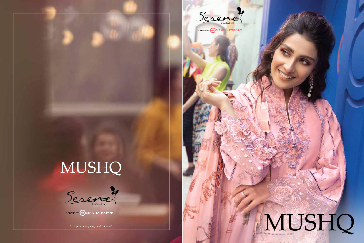 Stylish Look & Beautiful Embroidery Cambric Lawn Pakistani Salwar Suit At Wholesale Rate