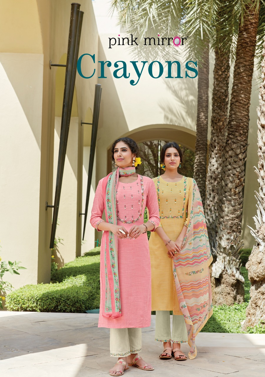 New Stylish Exclusive Embroidery Viscose Kurtis And Pant With Designer Dupatta At Wholesale Rate