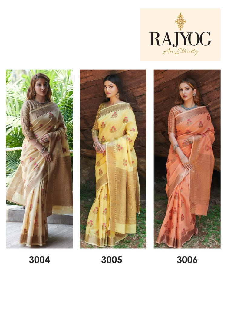 New Stylish Designer Pure Soft Linen Summer Wear Saree At Wholesale Rate