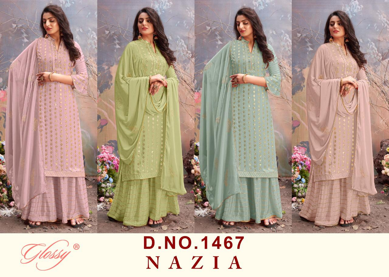 Designer Exclusive New Pure Viscos Chinnon Gota Work Salwar Suit At Wholesale Rate